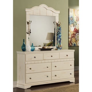 Sandberg Furniture Jardin Dresser and Mirror