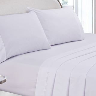Egyptian Cotton Percale 400 Thread Count Deep Pocket Sheet Set