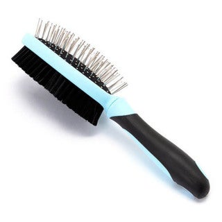 Iconic Pet Double Sided Brush (Bristle and Hard Pin)