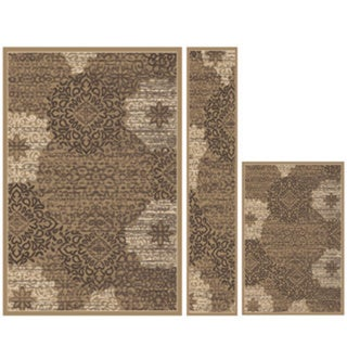 Plaza Mia Area Rug 3-piece Set
