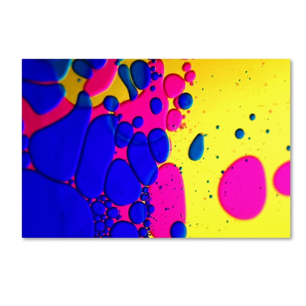 Beata Czyzowska Young 'Colour Fun IV' Canvas Art