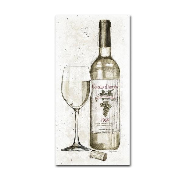 Avery Tillmon 'Pencil Wine II' Canvas Art