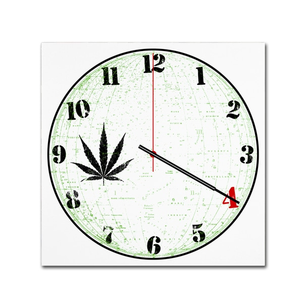 Potman 'Four Twenty' Canvas Art