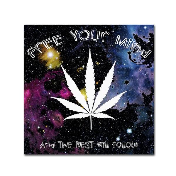 Potman 'Free Your Mind' Canvas Art