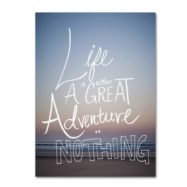 Leah Flores 'Great Adventure' Canvas Art