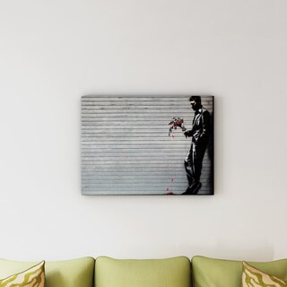 Banksy 'Hustler Club' Canvas Art