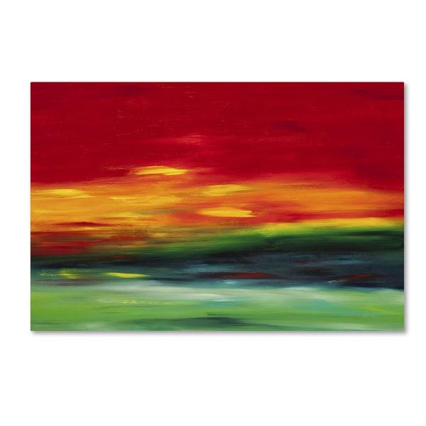 Hilary Winfield 'Island Sky 2' Canvas Art 15559343