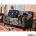 Home Fashion Designs Luxe Collection Printed Reversible Love Seat Protector