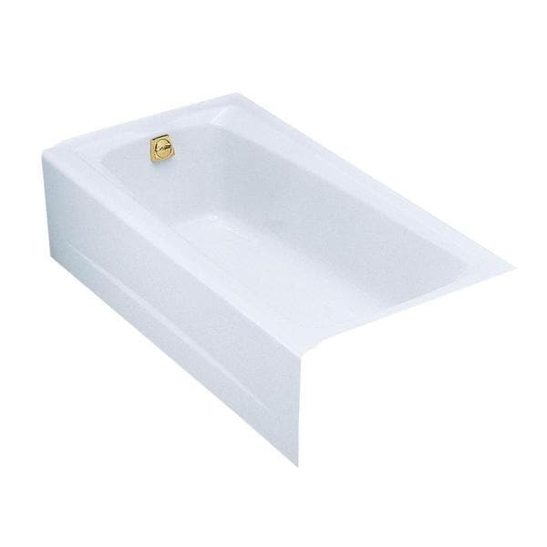 Mendota 5 Foot Left-hand Drain Bathtub