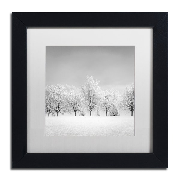 Dave MacVicar 'Ice Storm' Framed Canvas Art
