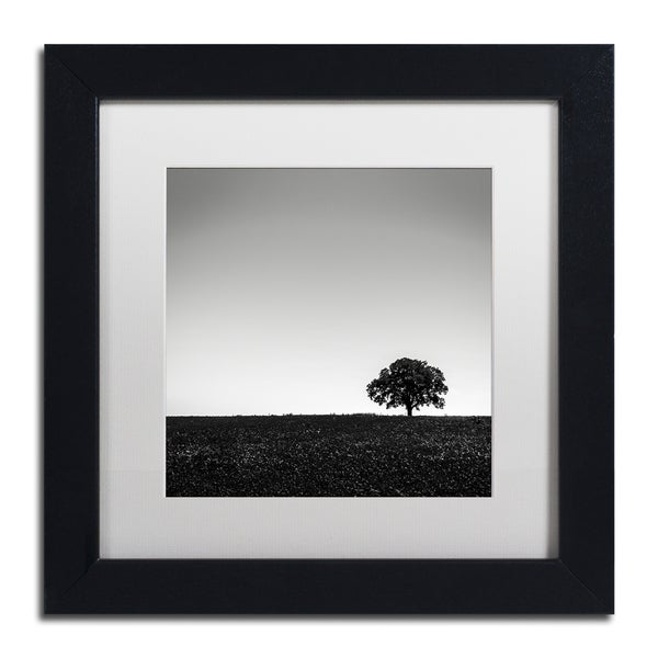 Dave MacVicar 'One Tree Hill' Framed Canvas Art