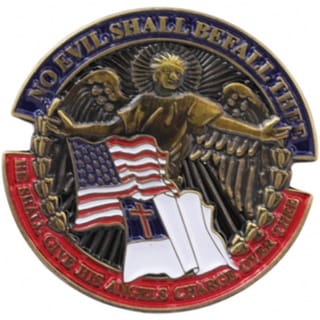 Soldier's Psalm Pin