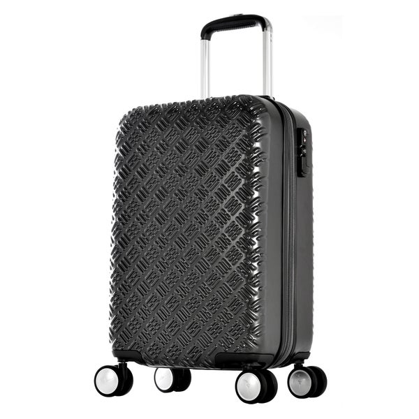 Olympia T Line Gon 25-inch Polycarbonate Mid-Size Spinner Suitcase