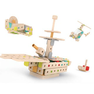 Classic World Wood Construction Set