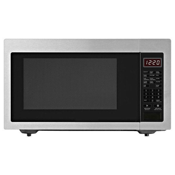 Whirlpool 2.2-cubic foot Countertop Microwave Oven Stainless Steel