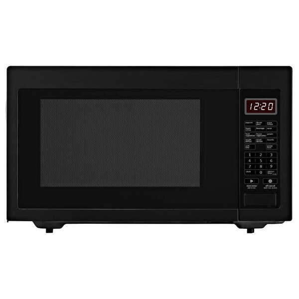 Whirlpool 2.2-cubic foot Countertop Microwave Oven Black