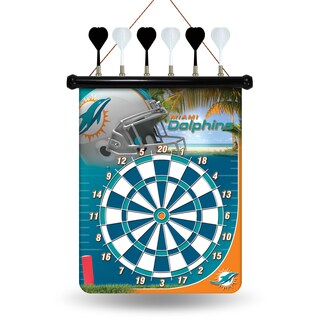 Miami Dolphins Magnetic Dart Set