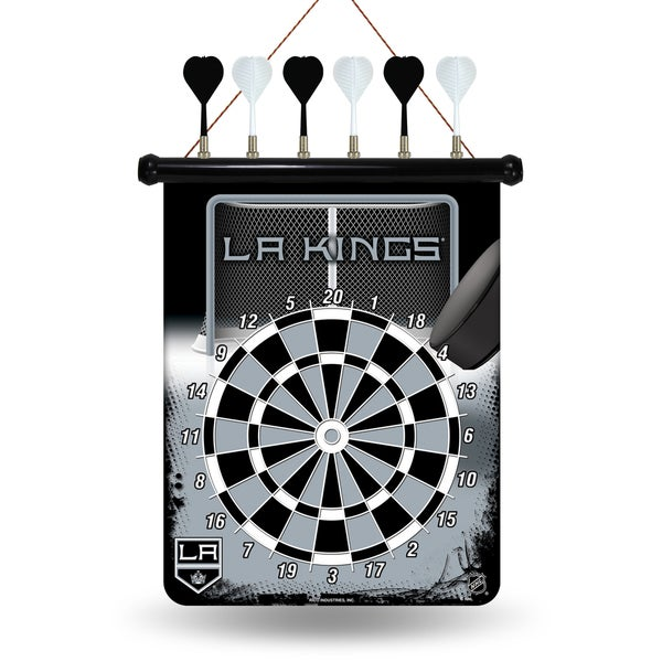 Los Angeles Kings Magnetic Dart Set 15561649