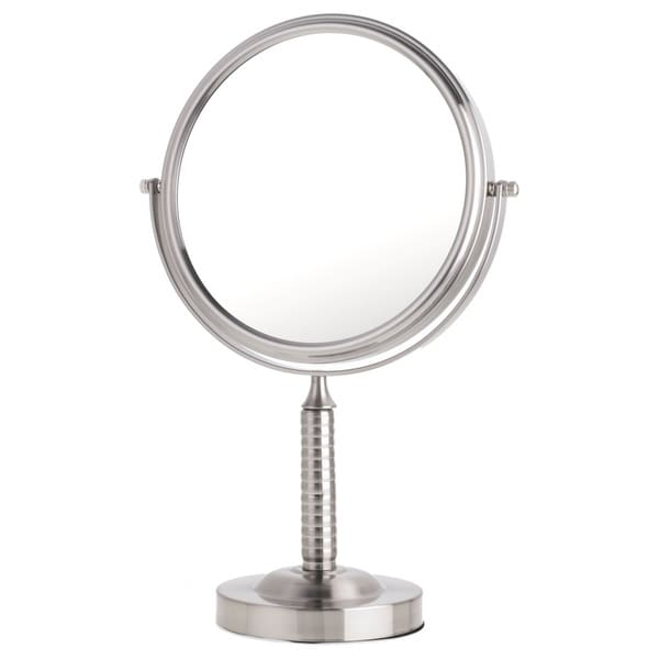 Danielle Mirror Vanity Ribbed Stem Mirror