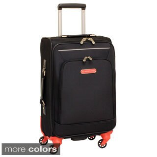 Swiss Cargo Petra 20-inch Carry On Spinner Upright Suitcase