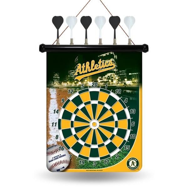 Oakland Athletics Magnetic Dart Set
