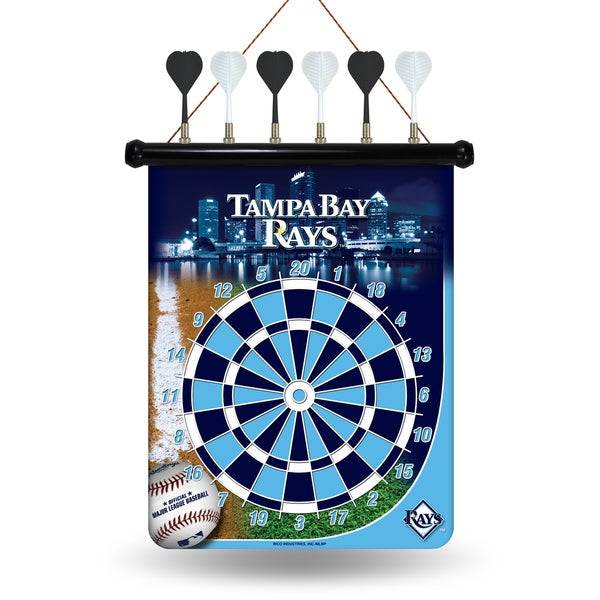 Tampa Bay Rays Magnetic Dart Set 15561994