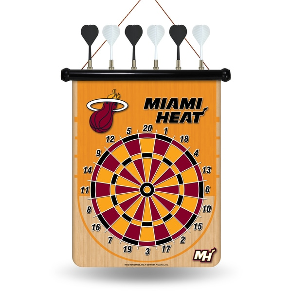 Miami Heat Magnetic Dart Set