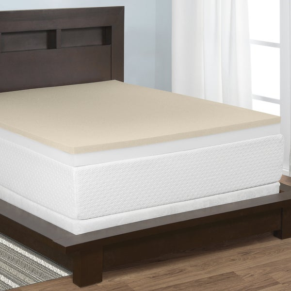 Select Luxury 4-inch Restore-a-Mattress Memory Foam Mattress Topper