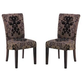 Skyline Furniture Uptown Dining Chair In Pantheon Admiral
