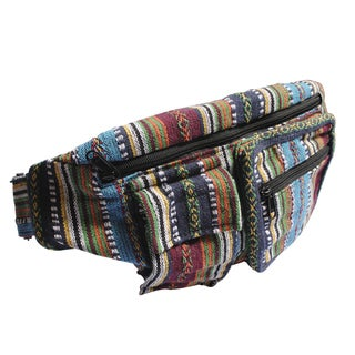 Multi Cotton Fanny Pack Utility Belt Bag (Nepal)
