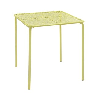 Green Squared Outdoor Coffee Table