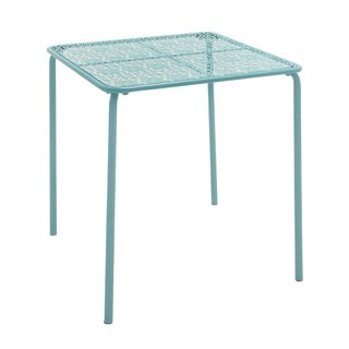 Blue Squared Outdoor Coffee Table