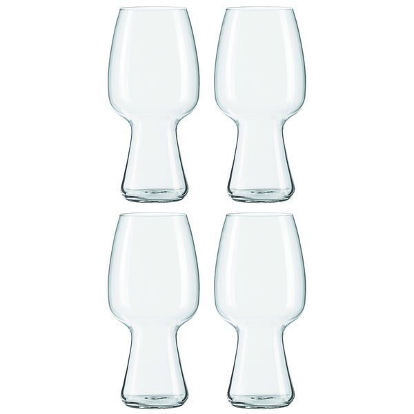 Spiegelau Beer Classics Non-Leaded Crystal Stout Beer Glasses (Set of 4)