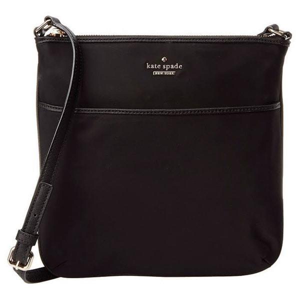 Kate Spade New York Joni Nylon Classic Black Handbag