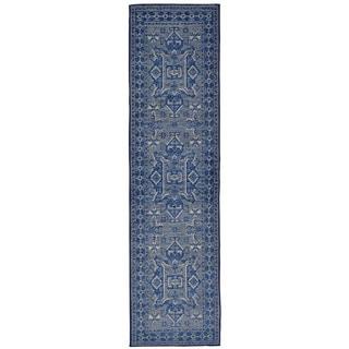 Ethnic Navy Indoor Rug (1'11 x 7'6)