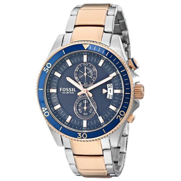 Fossil Men's CH2954 Wakefield Chronograph Stainless Steel Two Tone Watch