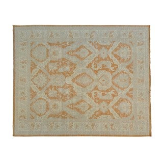 Oversize Fine Sultanabad Oriental Hand-knotted Rug (12'3 x 15'1)