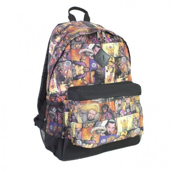 Fuel Comic Print Backpack