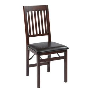 OSP Home Furnishings Hacienda Folding Chair 2-Pack
