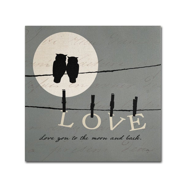 Pela Studio 'Moon Lovers I' Canvas Art 15564034