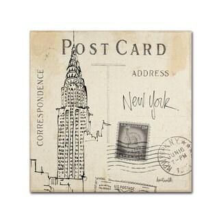 Anne Tavoletti 'Postcard Sketches I' Canvas Art