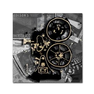 Roderick Stevens 'Movie Projector' Canvas Art