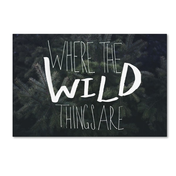 Leah Flores 'Where the Wild Things Are' Canvas Art