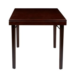 OSP Designs Hacienda Espresso finish Folding Table