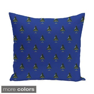Blue/ Red/ Green/ Purple Decorative Holiday 18-inch Pillow