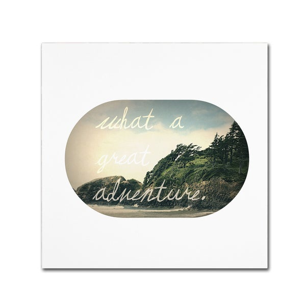 Leah Flores 'What A Great Adventure' Canvas Art