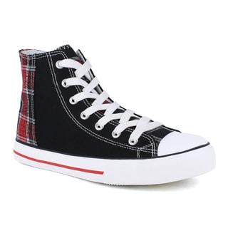Celeste Women's Velia-06 Ankle High Flat Fashion Sneakers