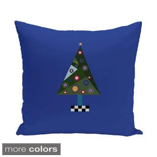 Blue/ Red/ Green/ Purple Decorative Holiday Pattern 26-inch Accent Pillow