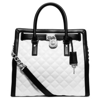 Michael Kors Hamilton Quilted North South Tote