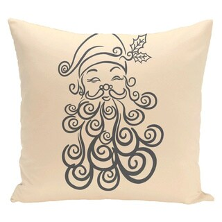 White Decorative Holiday 20-inch Accent Pillow